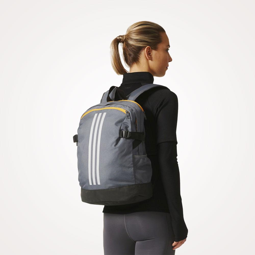 Ruksak školski Adidas 3-Stripes Power Backpack Medium - sivi ... 30df717ea1958