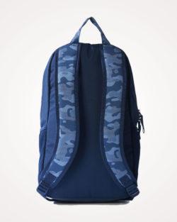 Ruksak školski Adidas Classic Graphic Backpack leđa - plavi