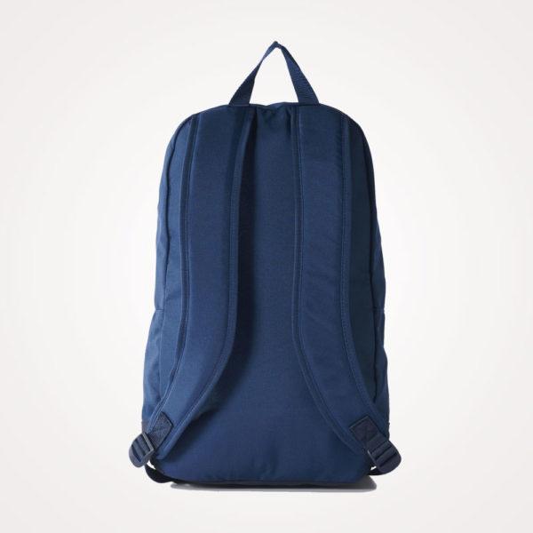 Ruksak školski Adidas Versatile Backpack leđa - plavo bijeli