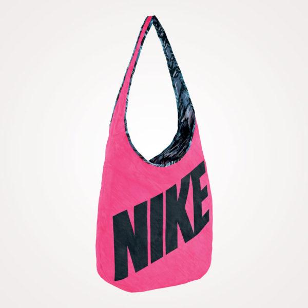 Torba na rame Ya Graphic Reversible Tote Nike - roza