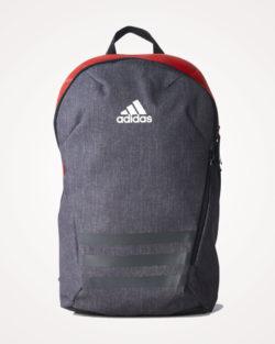 Ruksak školski Adidas ACE 17.2 Backpack - sivo crveni