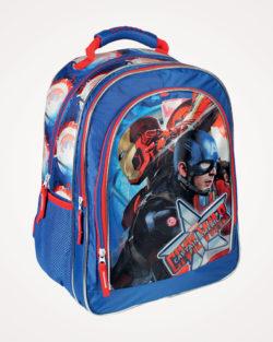 Ruksak školski anatomski Captain America Cerda