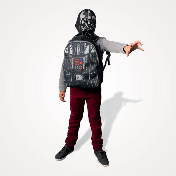 Ruksak školski s kapuljačom Star Wars Cerda