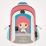 Ruksak školski s kotačićima Lil Ledy Traveler