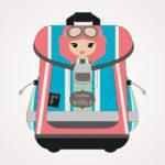 Torba školska anatomska Lil Ledy Traveler