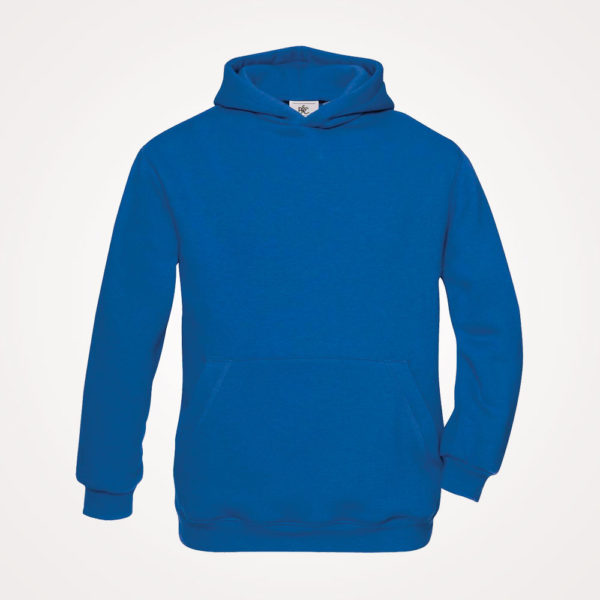 Majica Hooded kids B&C 280g - zagrebačko plava