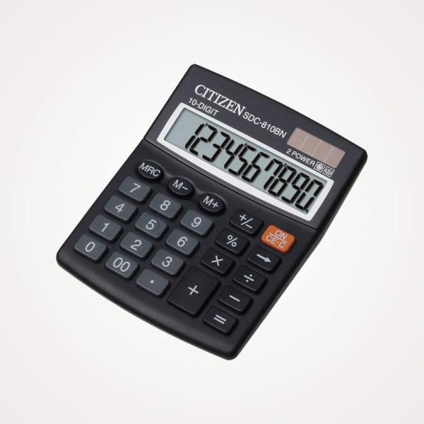 Kalkulator komercijalni 10mjesta Citizen SDC-810BN