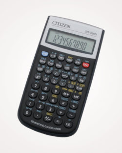 Kalkulator tehnički 10+2mjesta 165 funkcija Citizen SR-260N