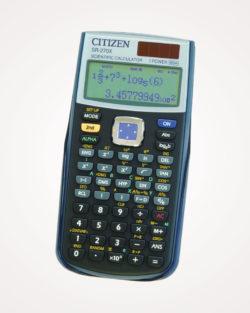 Kalkulator tehnički 10+2mjesta 251 funkcija Citizen SR-270X
