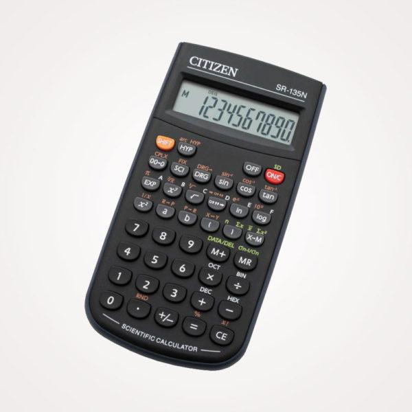 Kalkulator tehnički 8+2mjesta 128 funkcija Citizen SR-135N