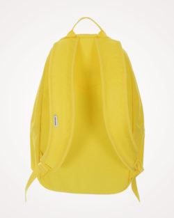 Ruksak školski Converse Core Poly Backpack leđa - žuti