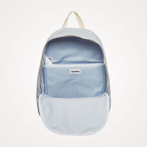 Ruksak školski Converse EDC Canvas Backpack otvoreni - svijetlo plavi