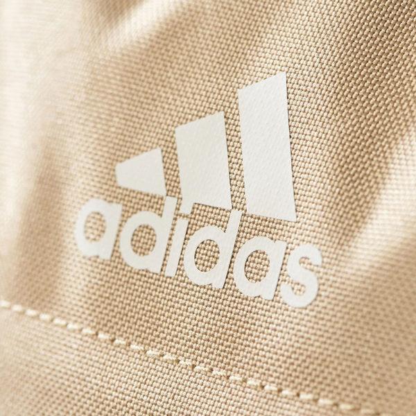 Ruksak školski - notebook Adidas Power 3 logo - svijetlo smeđi