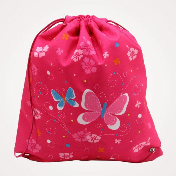 Torba školska set 4/1 Midi Butterfly Herlitz - vrećica za tjelesni