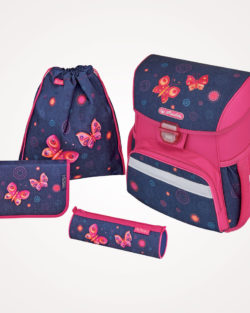 Torba školska set 4/1 Loop Butterfly dreams Herlitz