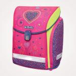 Torba školska set 4/1 Midi Pink Hearts Herlitz – torba