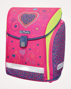 Torba školska set 4/1 Midi Pink Hearts Herlitz - torba