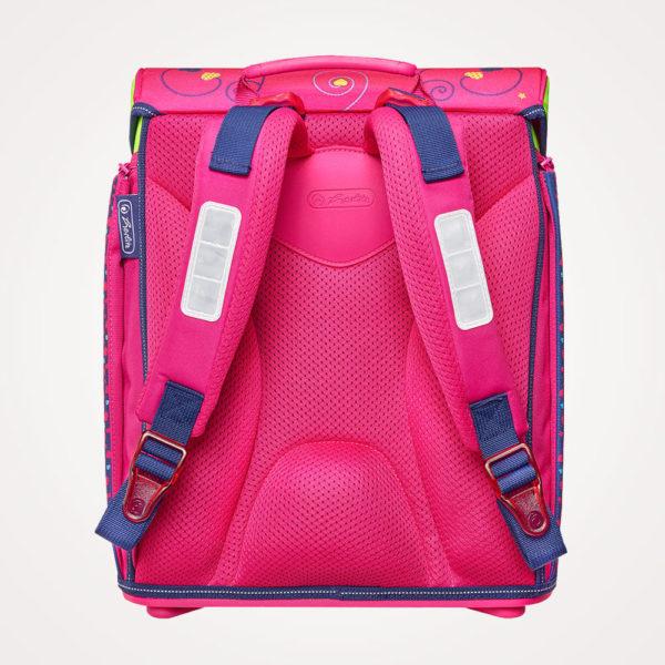 Torba školska set 4/1 Midi Pink Hearts Herlitz - torba leđa