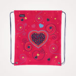 Torba školska set 4/1 Midi Pink Hearts Herlitz – vrećica
