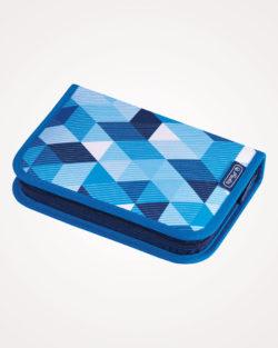 Pernica puna 1zip 2preklopa Blue Cubes Herlitz