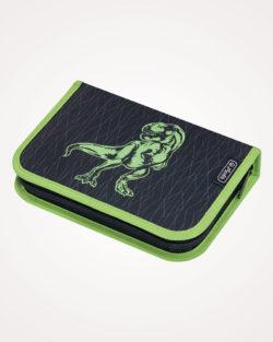 Pernica puna 1zip 2preklopa Green Dino Herlitz