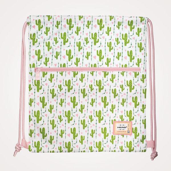 Vrećica za tjelesni Head - bijelo/rozo/zelena