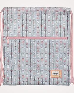 Vrećica za tjelesni Head - sivo/pastelno roza
