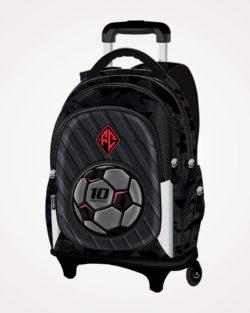 Ruksak školski s kotačićima Football Team Connect