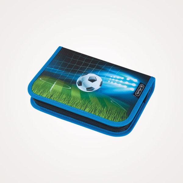 Torba školska set 4/1 Loop Soccer Herlitz - pernica puna