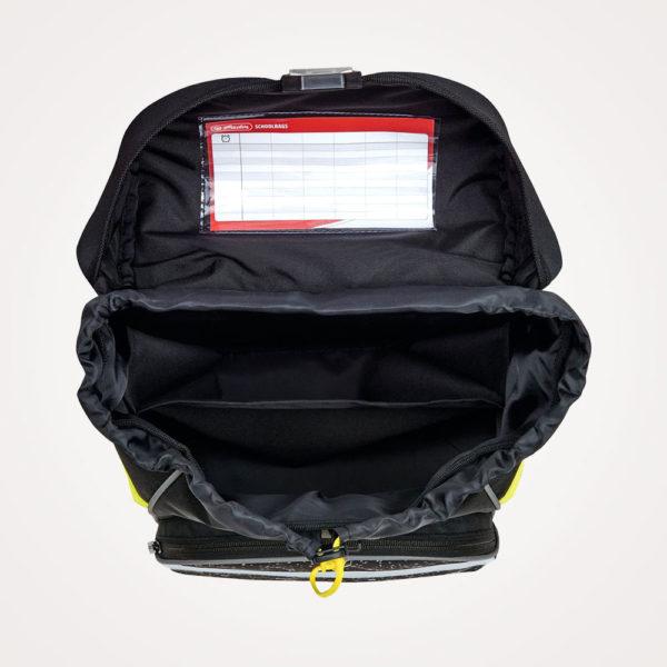 Torba školska set 4/1 Ultralight Plus Space Herlitz - torba otvorena