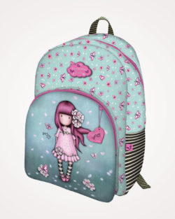 Ruksak školski 2 zipa Cherry Blossom Gorjuss