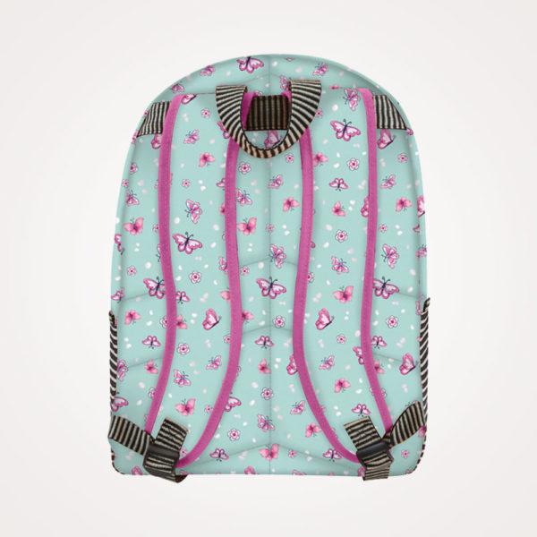 Ruksak školski 2 zipa Cherry Blossom Gorjuss - leđa